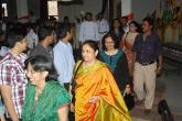 Chief Guest enters the school hall