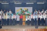 Choral recitation on the giving tree
