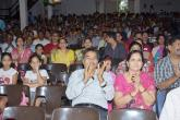 Audience applauding the prize winners