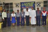 District officials with the Chief Guest