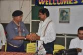 Felicitating the  Guest of Honour