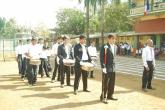 The school band